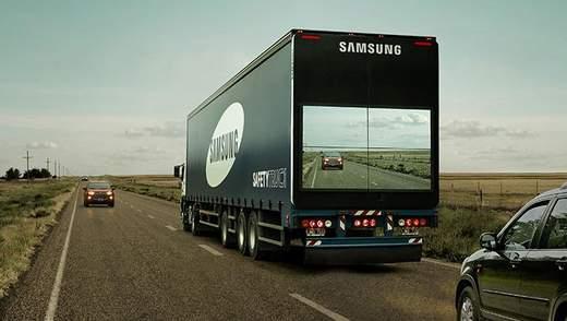 Safety Truck – технологія, яка допоможе безпечно обігнати вантажівку