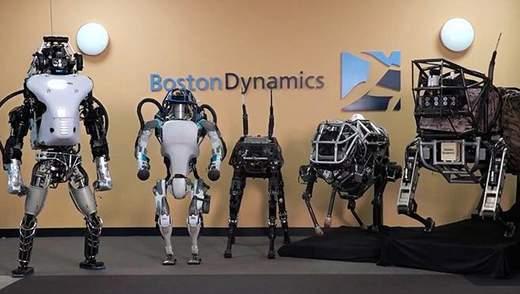 Команда розробників з Boston Dynamics продемонструвала нові можливості власних роботів: відео