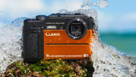Panasonic представила камеру для съемки на глубине