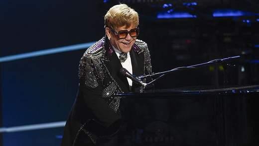 Легендарний Елтон Джон дасть благодійний концерт в Києві: деталі