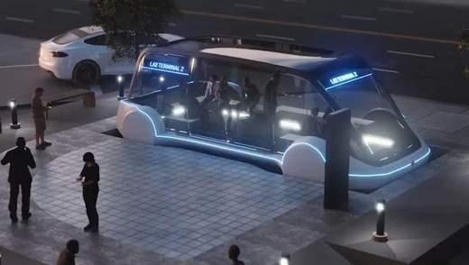 Маск рассказал детали о быстром и дешевом общественном транспорте от The Boring Company