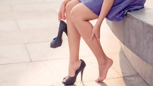 Чому набрякають ноги: основні причини