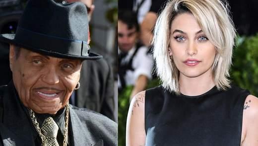 Дочь Майкла Джексона щемяще попрощалась с дедушкой