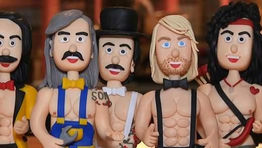 Украинские певцы стали героями эротической серии мини-игрушек: фото