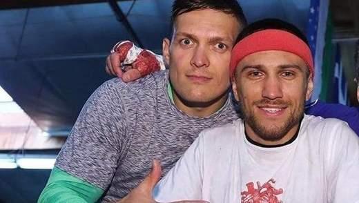 Ломаченко заступився за Усика перед критиками на адресу чемпіона: фото