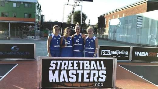 Збірна України перемогла на баскетбольному турнірі в Нідерландах