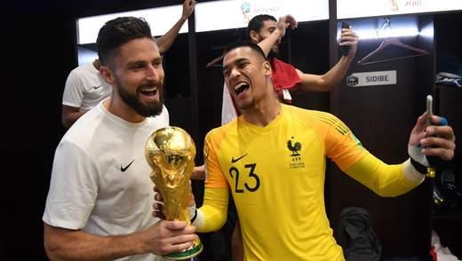 Чемпіоном світу з футболу став гравець, який взагалі не зіграв жодного матчу за збірну Франції