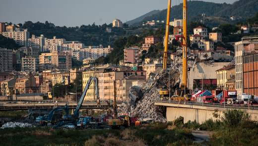 Обвал моста в Генуе: озвучили окончательное число погибших