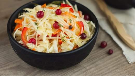 Салаты на зиму из капусты: рецепты приготовления