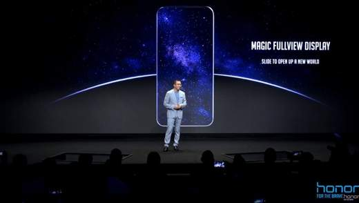 Huawei заинтриговала снимком абсолютно безрамочного смартфона Honor Magic 2