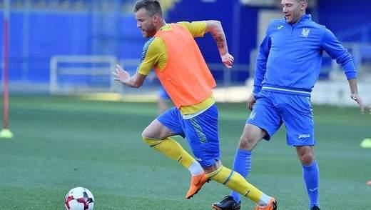 Сборная Украины начала подготовку к матчам Лиги наций: подробности