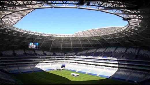 Один из стадионов, который принимал ЧМ-2018 в России оказался недостроенным