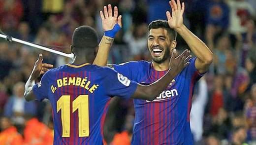 """Суарес і Дембеле здобули для """"Барселони"""" вольову перемогу"""