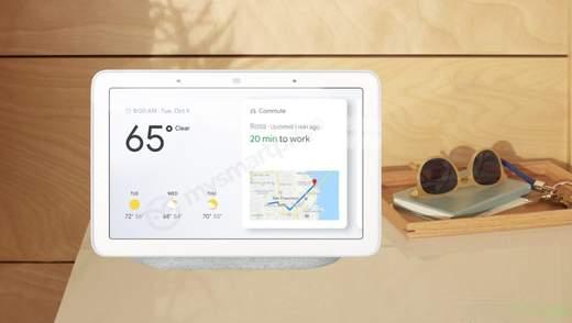 Google презентувала новий пристрій Home Hub: особливості та ціна новинки