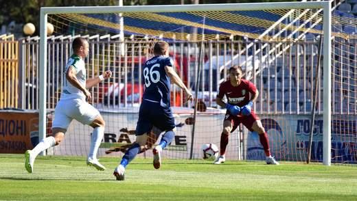 Мариуполь – Александрия: видео гола и моментов матча