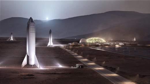 Как будет выглядеть колонизация Марса – Илон Маск обнародовал прототип