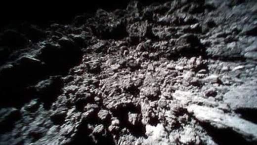 Дослідники вперше отримали відео з поверхні астероїда