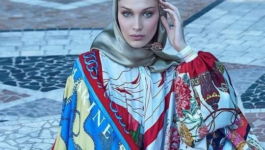 Белла Хадід у скромному образі прикрасила обкладинку арабського глянцю: фото