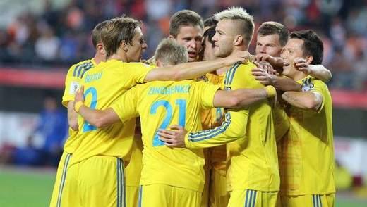 Україна може достроково забезпечити собі перше місце у групі Ліги Націй