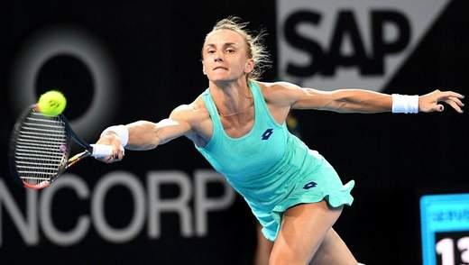 Українка Цуренко програла росіянці у першому колі на турнірі в Москві
