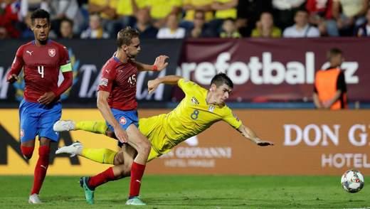 Україна – Чехія: стартові склади команд на матч Ліги націй