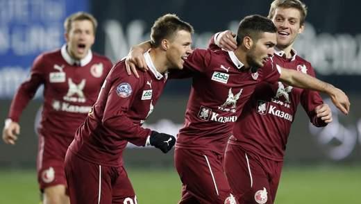 Російський клуб відсторонили від участі в єврокубках