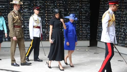 Total black: Меган Маркл продемонструвала стильне вбрання у Сіднеї