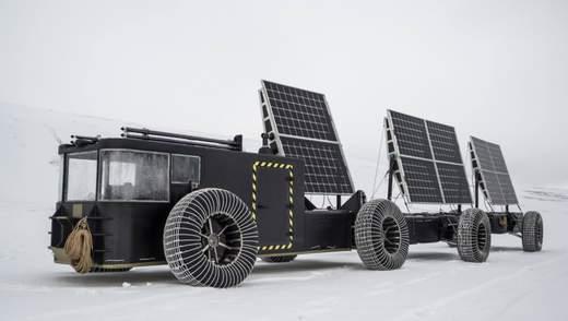 Голландские супруги отправятся на Южный полюс на вездеходе на солнечных батареях