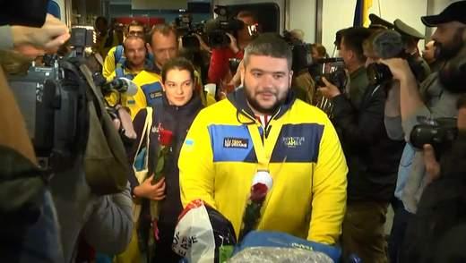 """Украинская сборная """"Игр непобежденных"""" вернулась домой: как встретили участников"""