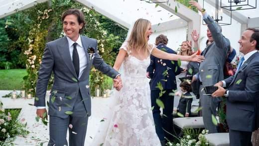 Як відгуляли весілля Гвінет Пелтроу і Бред Фелчак: романтична фотопідбірка
