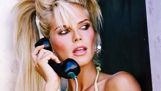 Платинова блондинка: Хайді Клум поділилася архівною сексуальною зйомкою