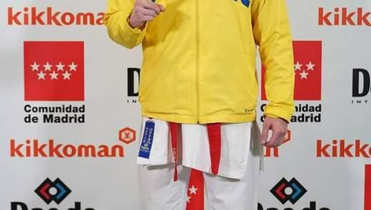 Українець Валерій Чоботар став віце-чемпіоном світу з карате