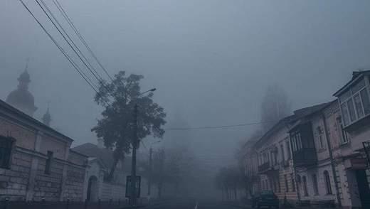 Україну оповив густий туман: вражаючі фото та відео