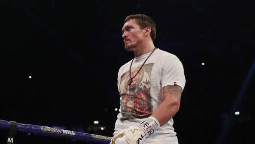 Усик піднявся на третє місце в рейтингу найкращих боксерів світу