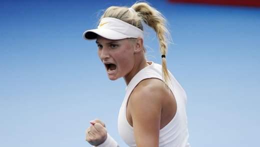 Даяна Ястремська увійшла у список наймолодших переможниць турнірів WTA