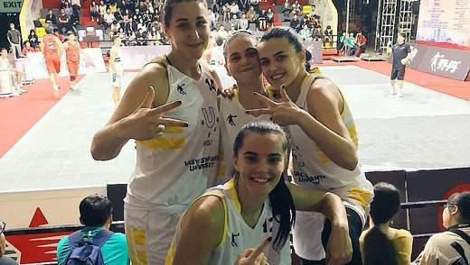 Збірна України перемогла у групі Всесвітньої університетської ліги 3х3