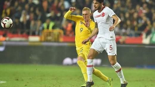 Туреччина – Україна: відео моментів товариського матчу