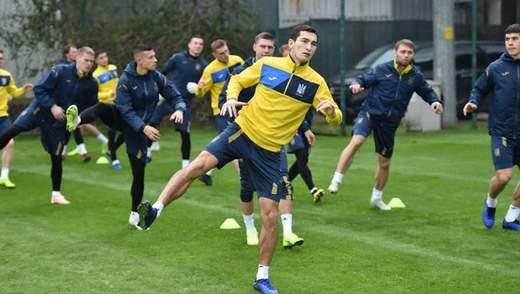 Збірна України провела заключне тренування перед матчем з Туреччиною: фото