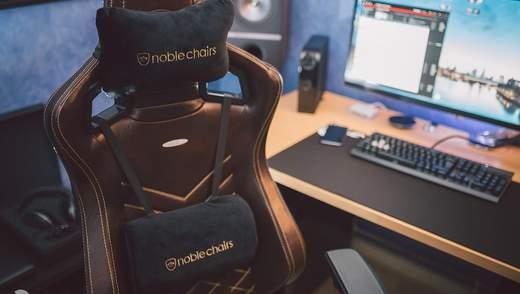 Геймерские кресла Noblechairs поступили в продажу в Украине