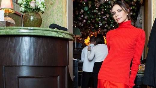 Вікторія Бекхем вийшла в світ без спідньої білизни: пікантні фото