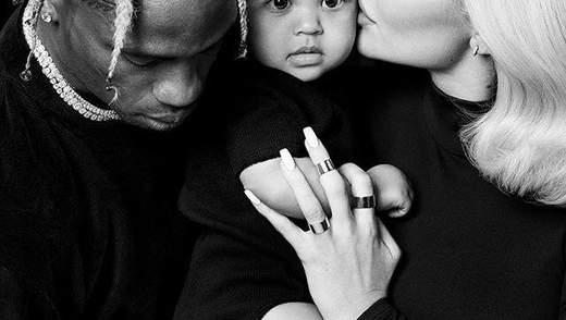 Кайлі Дженнер розчулила мережу сімейними фото з 9-місячною дочкою