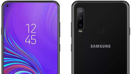 Samsung Galaxy A8s: характеристики інноваційного смартфона з'явились в мережі