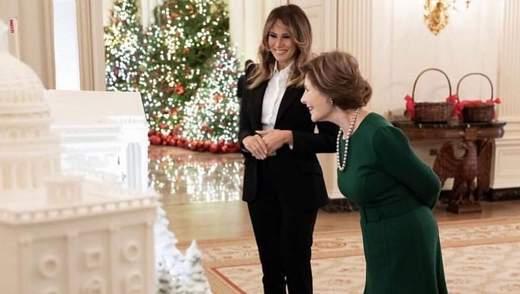 Зустріч президентських сімей: Меланія Трамп запросила екс-першу леді до Білого дому