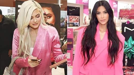 Ким Кардашян повторила образ своей младшей сестры: фотофакт