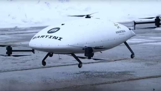 Взлетел, замерз, упал: россияне попытались запустить прототип собственного летающего такси