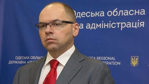 """Губернатор Одесской области запустил проект """"Мобильная поликлиника"""""""
