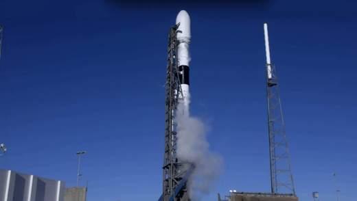 В США осуществили успешный запуск ракеты Falcon 9 с новейшим GPS-спутником: видео