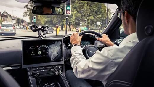 Інженери Jaguar Land Rover навчать авто підлаштовуватися під світлофори