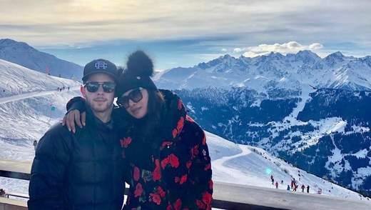 Приянка Чопра с Ником Джонасом отправились на отдых в Швейцарию: яркие фото