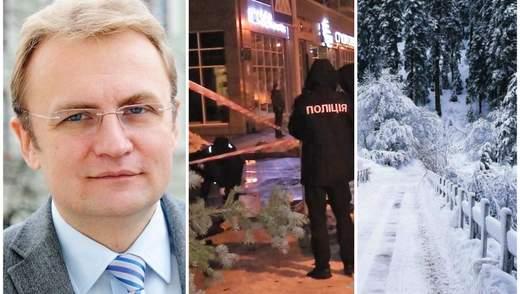 Головні новини 3 січня: Садовий іде в президенти, вбивство у центрі Києва, Україну засніжило